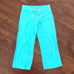 Lily Pulitzer cropped lounge pants